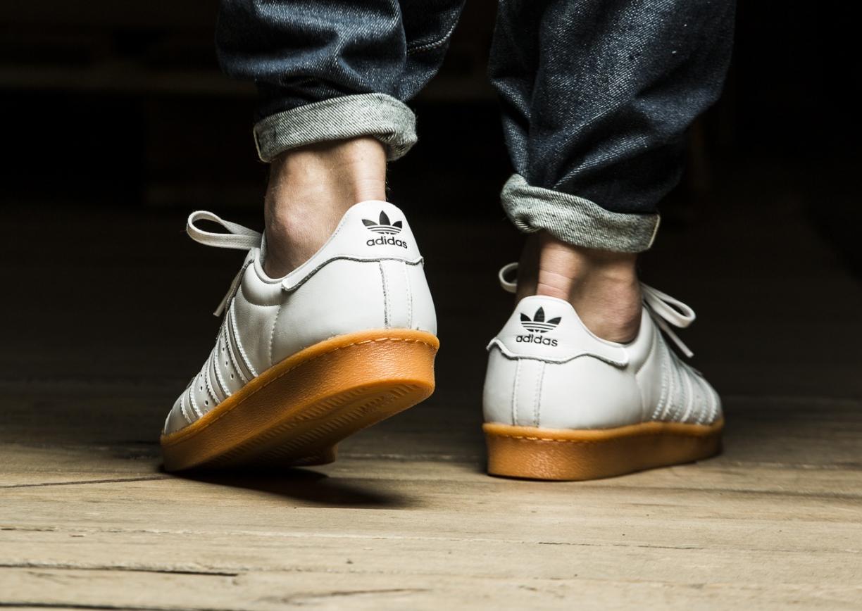 acheter chaussure Adidas Superstar 80's DLX Gum Shell Toe (3)