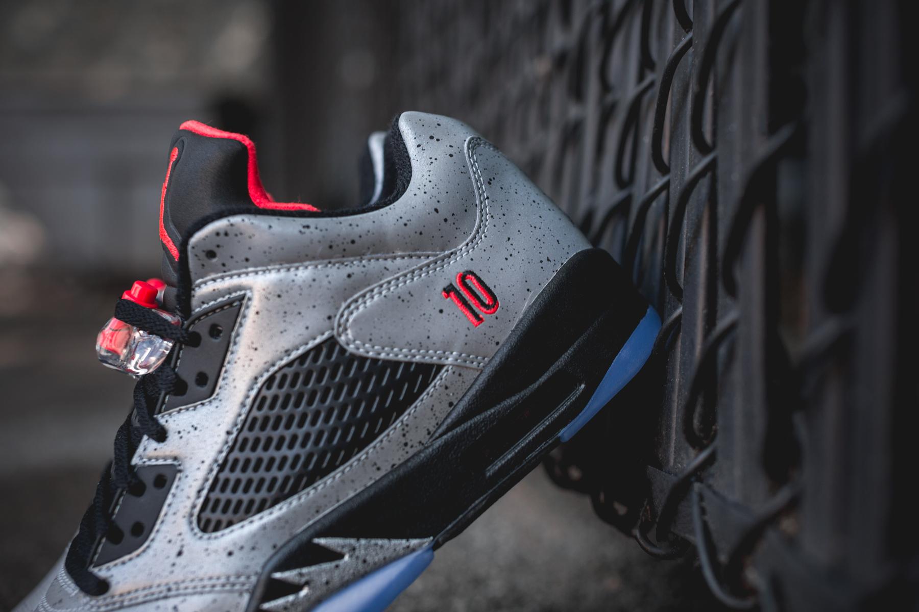 newest 0a7e6 0b506 acheter chaussure Air Jordan 5 Retro Low  Neymar Jr  (Reflective Silver  Infrared 23