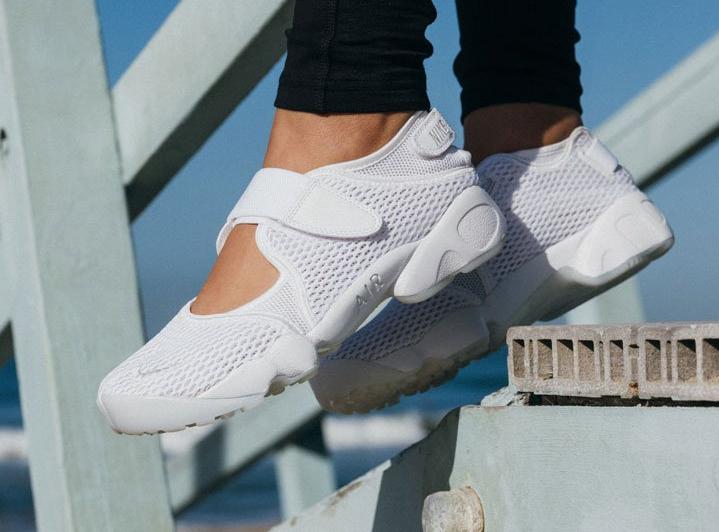 0fd4c38d64721 acheter chaussure Nike Air Rift Breathe 'White' (blanche)