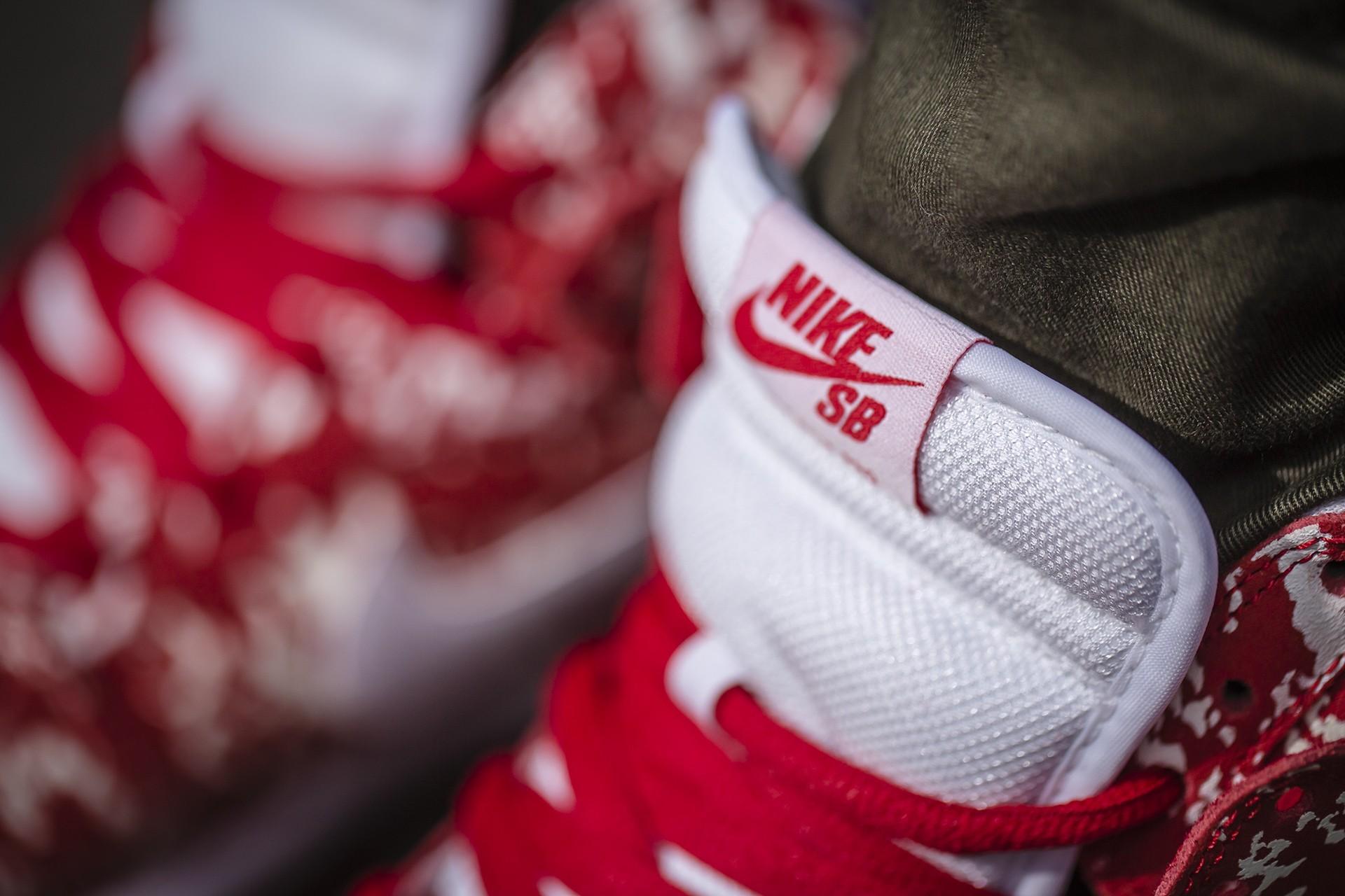 acheter chaussure Nike Dunk High Pro SB 'Raw Meat' (2)