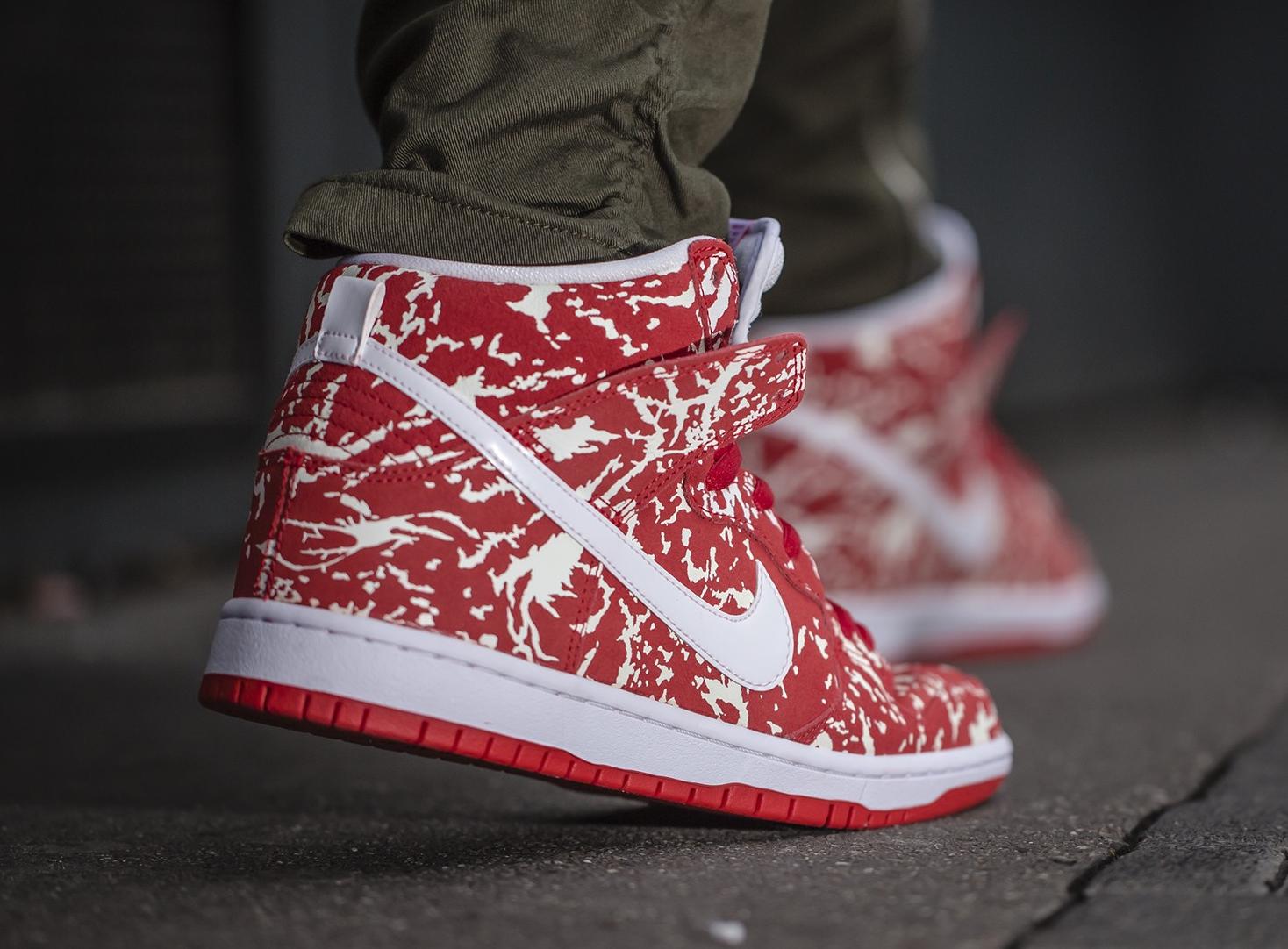 acheter chaussure Nike Dunk High Pro SB 'Raw Meat' (3)