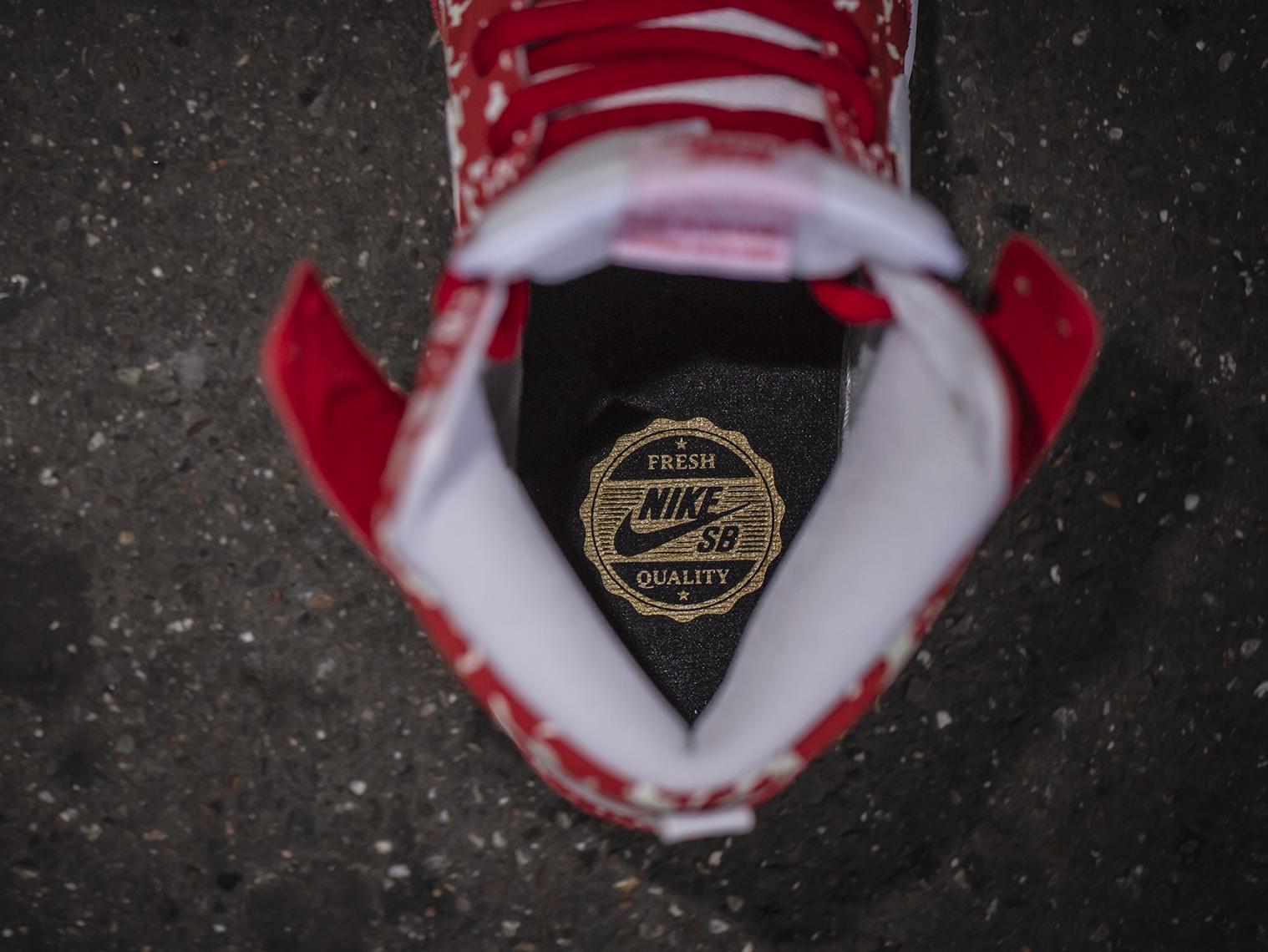 acheter chaussure Nike Dunk High Pro SB 'Raw Meat' (4)