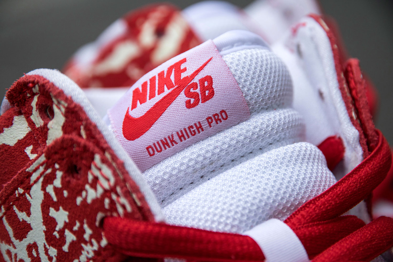 acheter chaussure Nike Dunk High Pro SB 'Raw Meat' (6)