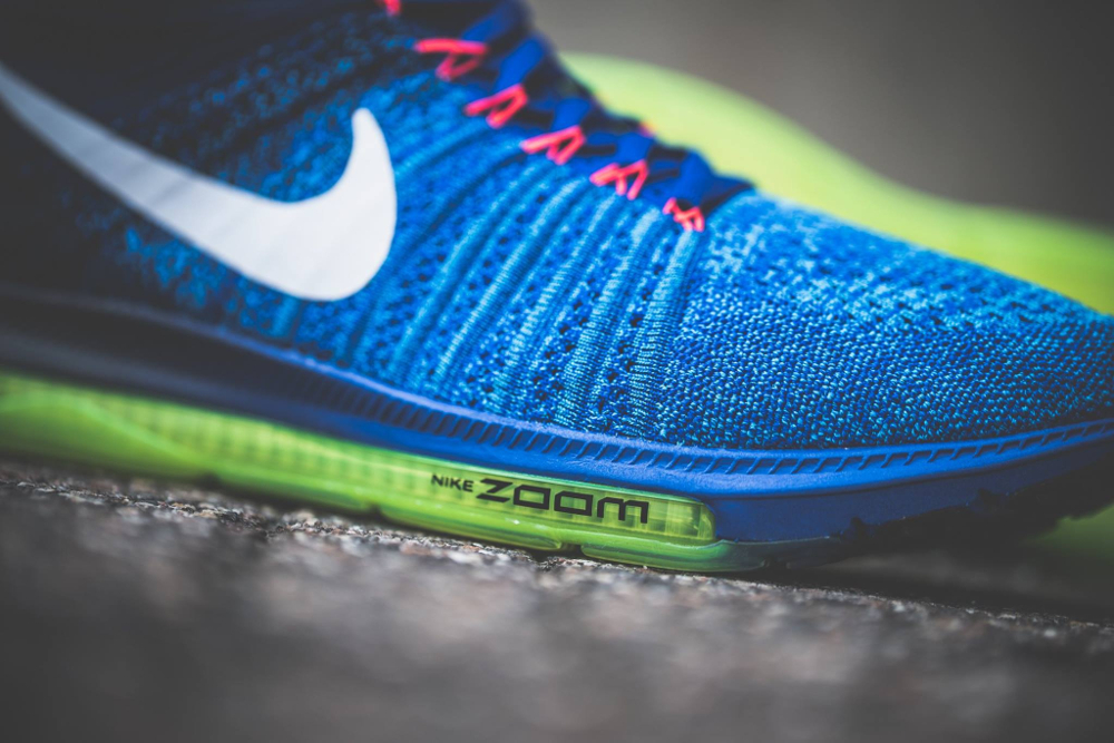 acheter chaussure Nike Zoom All Out Flyknit 'Racer Blue' (3)