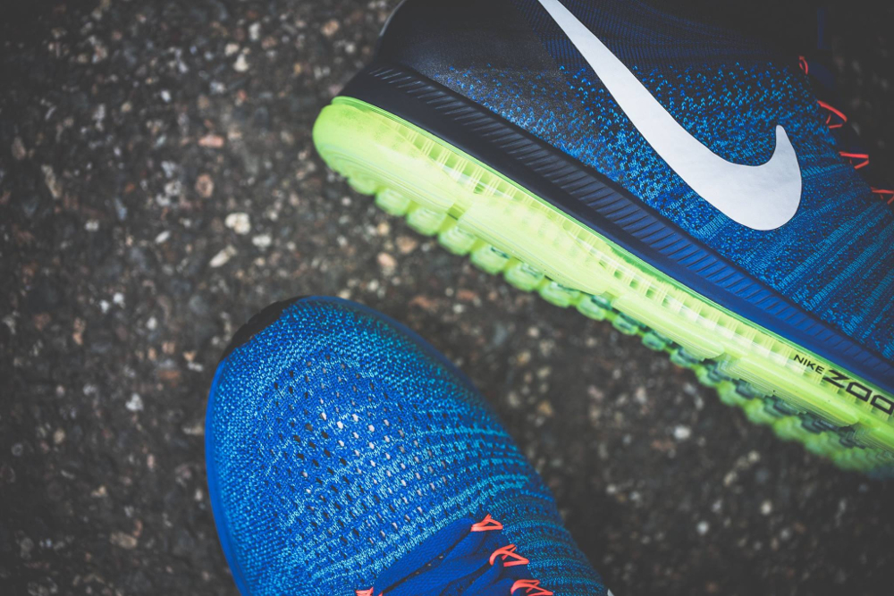 acheter chaussure Nike Zoom All Out Flyknit 'Racer Blue' (4)