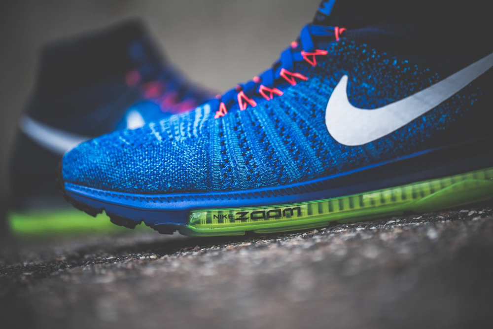 acheter chaussure Nike Zoom All Out Flyknit 'Racer Blue' (5)