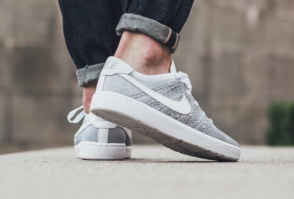 acheter chaussure Nikecourt Tennis Classic Ultra Flyknit Wolf Grey (7)