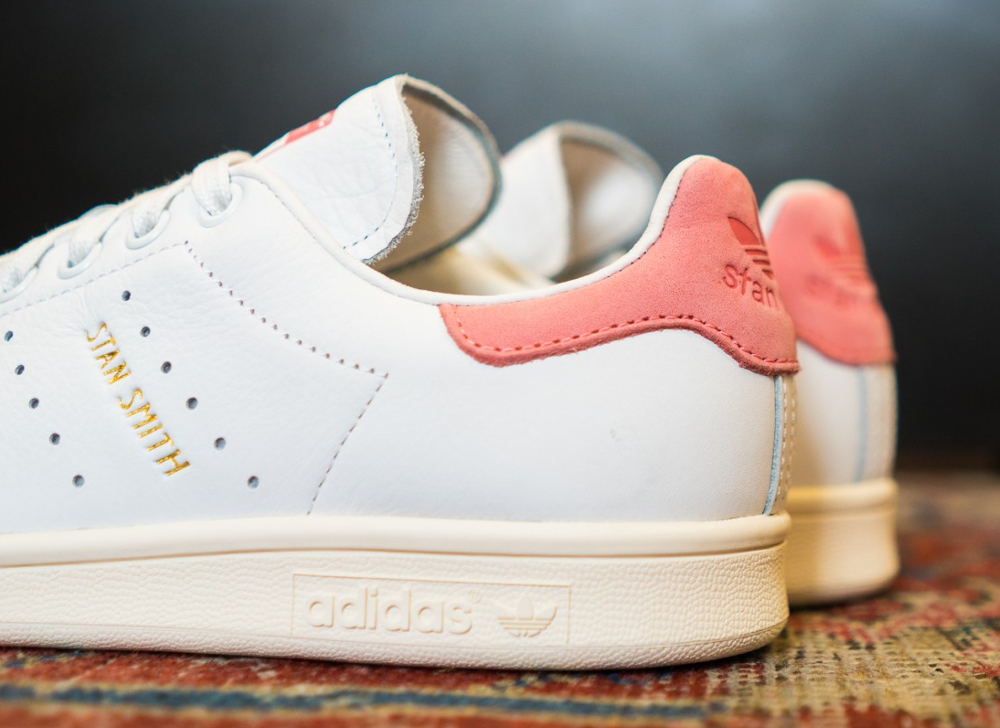 bd2a9085e5d75e Adidas Stan Smith Vintage  Ray Pink Gold