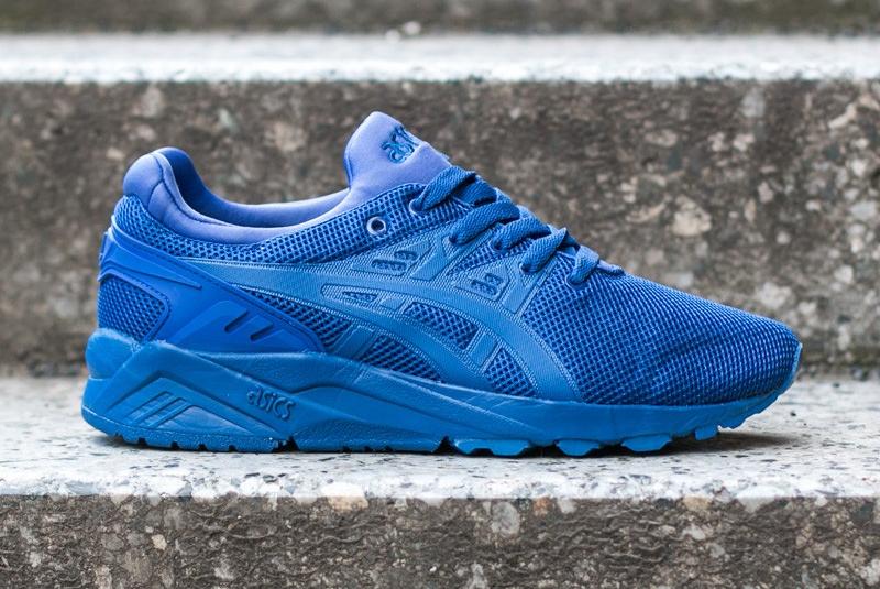 chaussure Asics Gel Kayano Trainer Evo en mesh bleu (6)