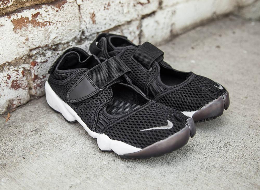 3f812cfcf9a chaussure Nike Air Rift Breathe Black (noire) (1)
