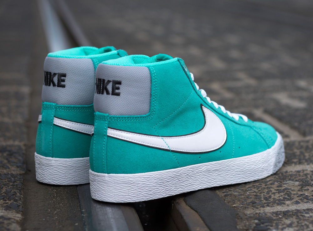 chaussure Nike Blazer SB Premium SE Hyper Jade (2)