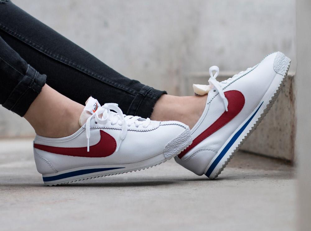 chaussure Nike Cortez 72' OG 'White Varsity Red' pour femme (4)