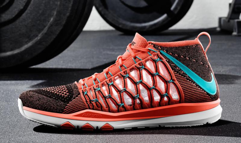 chaussure Nike Train Ultrafast Flyknit Bright Mango (1)