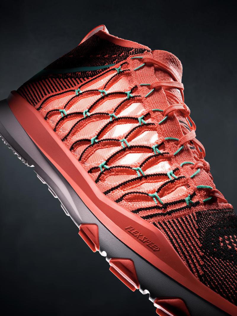 chaussure Nike Train Ultrafast Flyknit Bright Mango (3)