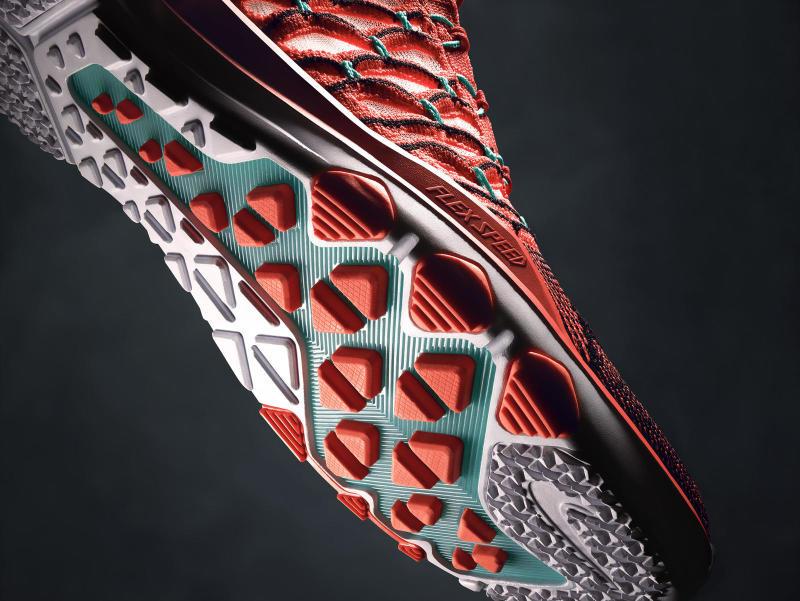 chaussure Nike Train Ultrafast Flyknit Bright Mango (4)