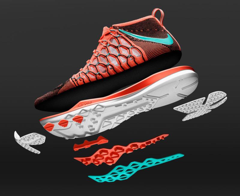 chaussure Nike Train Ultrafast Flyknit Bright Mango (6)