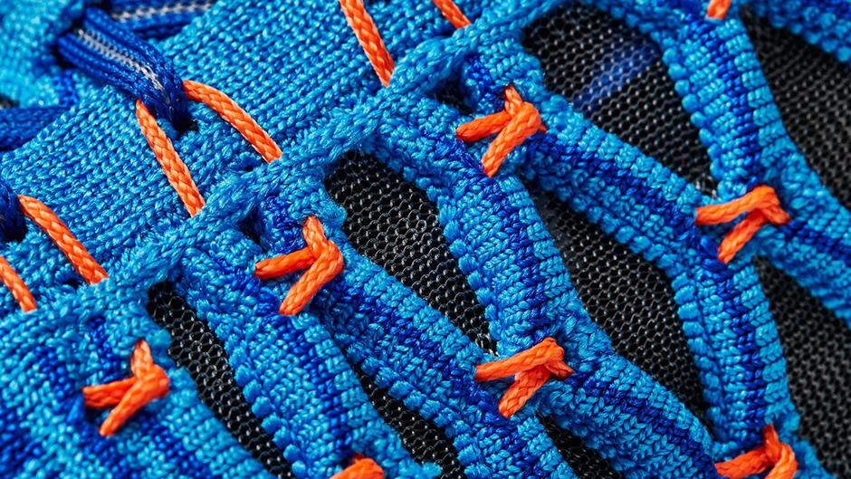 chaussure Nike Train Ultrafast Flyknit Racer Blue Total Crimson (3)