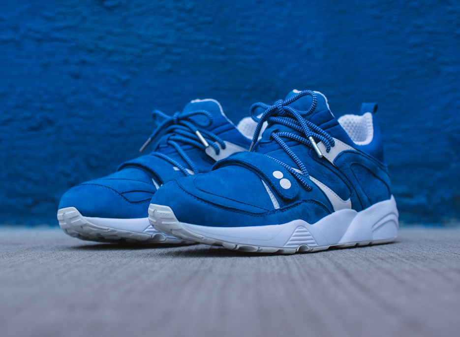 chaussure Ronnie Fieg x Puma Blaze Of Glory 'Colette Blue' (1)