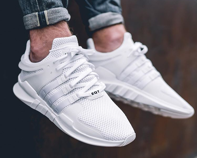 Adidas EQT Support ADV 91-16 Triple White - @moomin_
