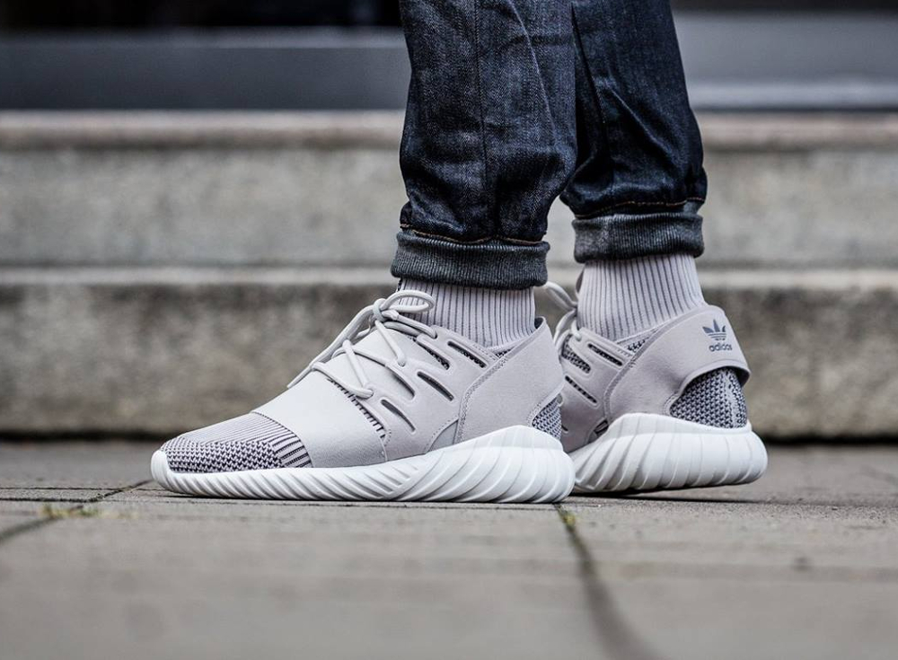 Adidas Tubular Doom Primeknit 'Clear Granite'