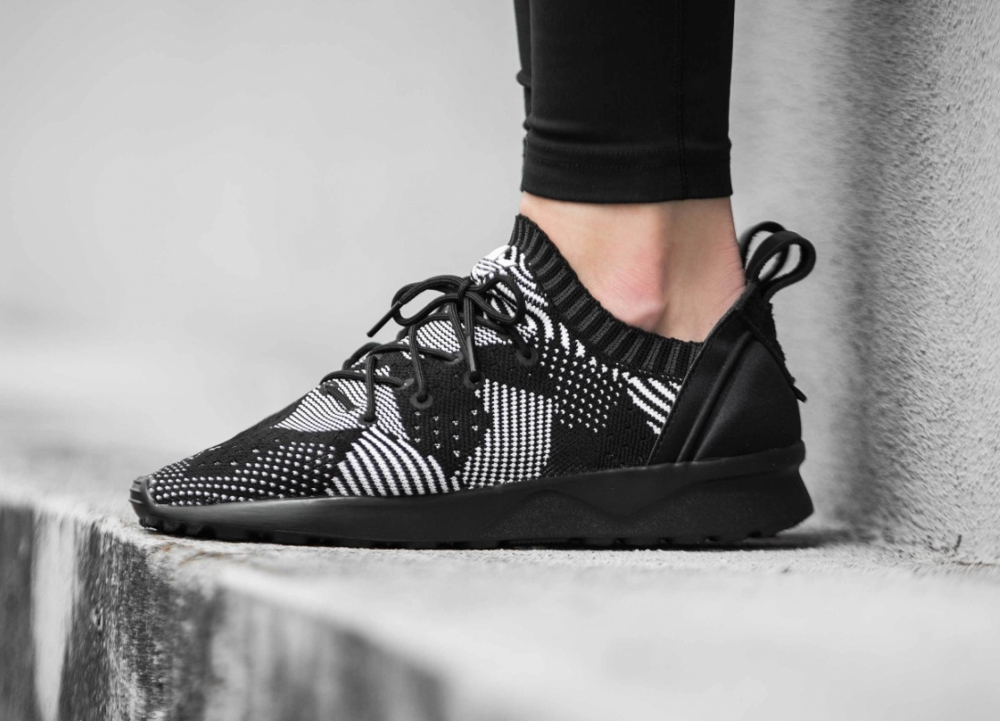 Adidas ZX Flux ADV Virtue PK W 'Core Black' (1)
