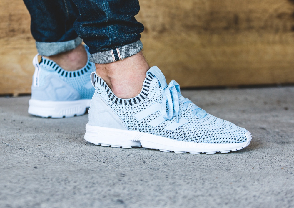 Adidas ZX Flux Primeknit Ice Blue (1)