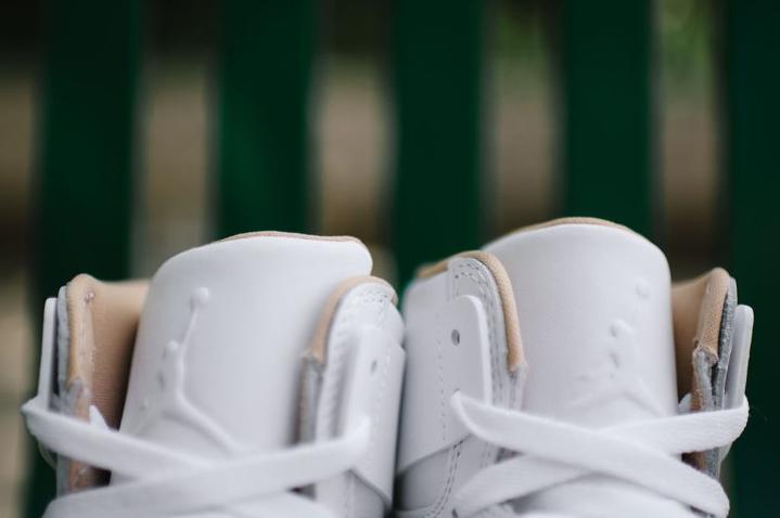Air Jordan 1 High Retro Perf 'Vachetta Tan' blanche (4)