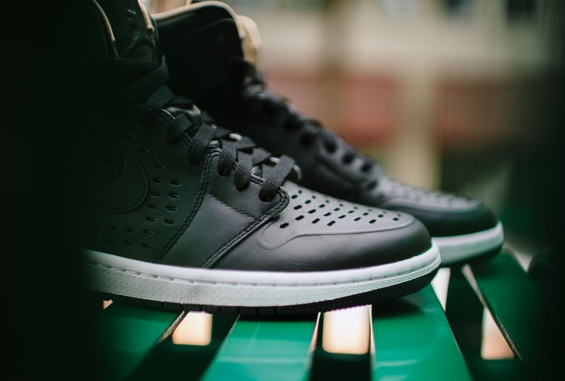 Air Jordan 1 High Retro Perf 'Vachetta Tan' noire (2)