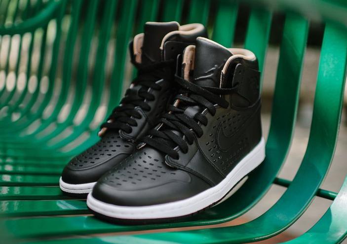 Air Jordan 1 High Retro Perf 'Vachetta Tan' noire (6)