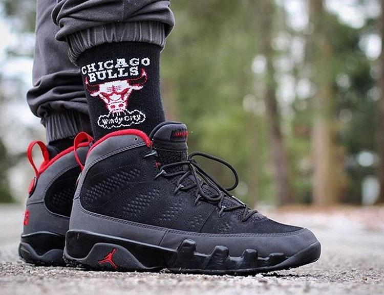 Air Jordan 9 Retro Dark Charcoal - @junkie4jordans
