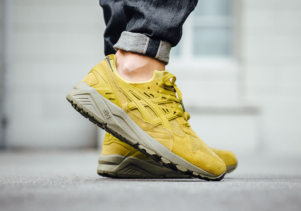 Asics Gel Kayano Trainer Antique Moss (daim jaune) (1)