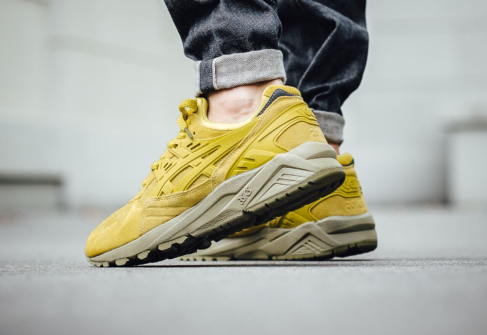Asics Gel Kayano Trainer Antique Moss (daim jaune) (2)