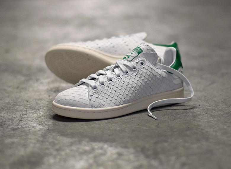 Basket Adidas Stan Smith OG Premium 'Python snakeskin' (2)