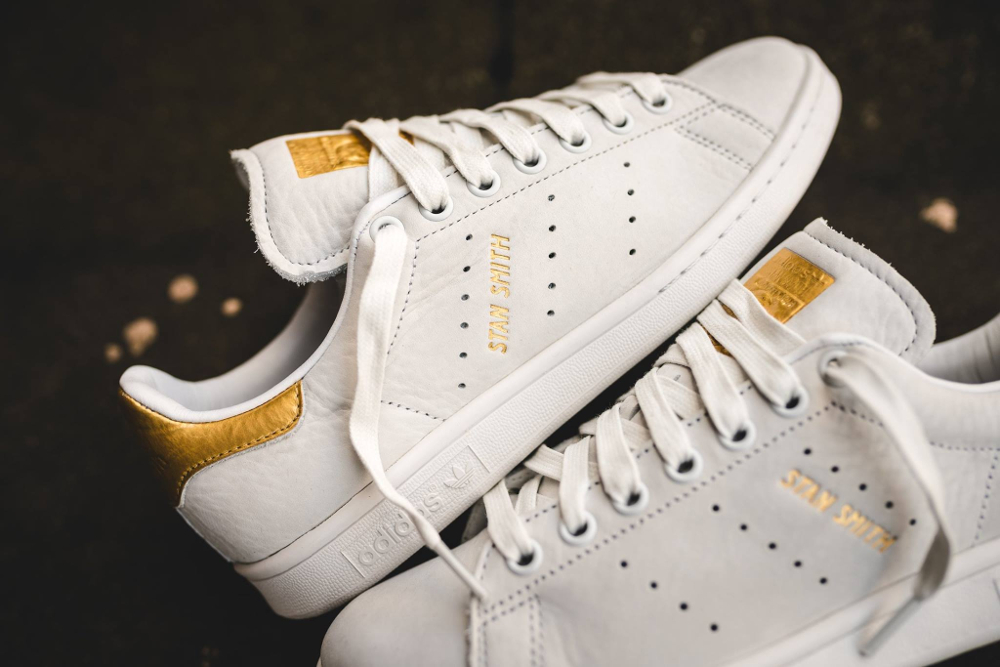 Basket Adidas Stan Smith Premium 999 '24K Gold' (2)