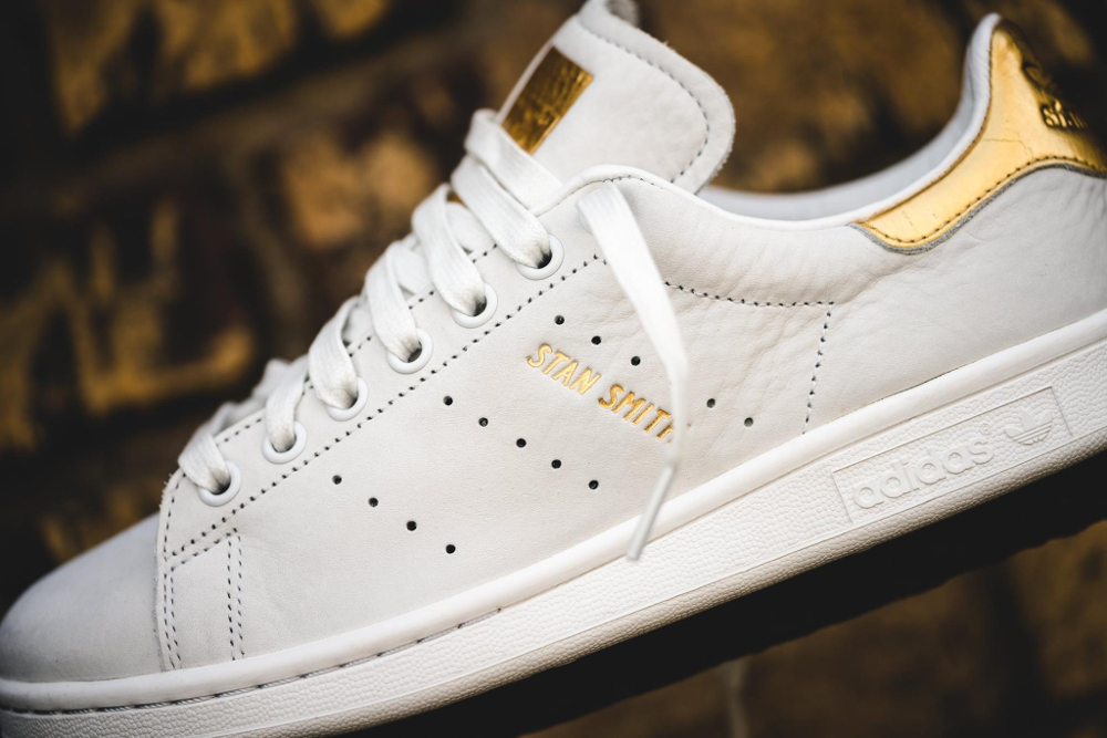 Basket Adidas Stan Smith Premium 999 '24K Gold' (3)