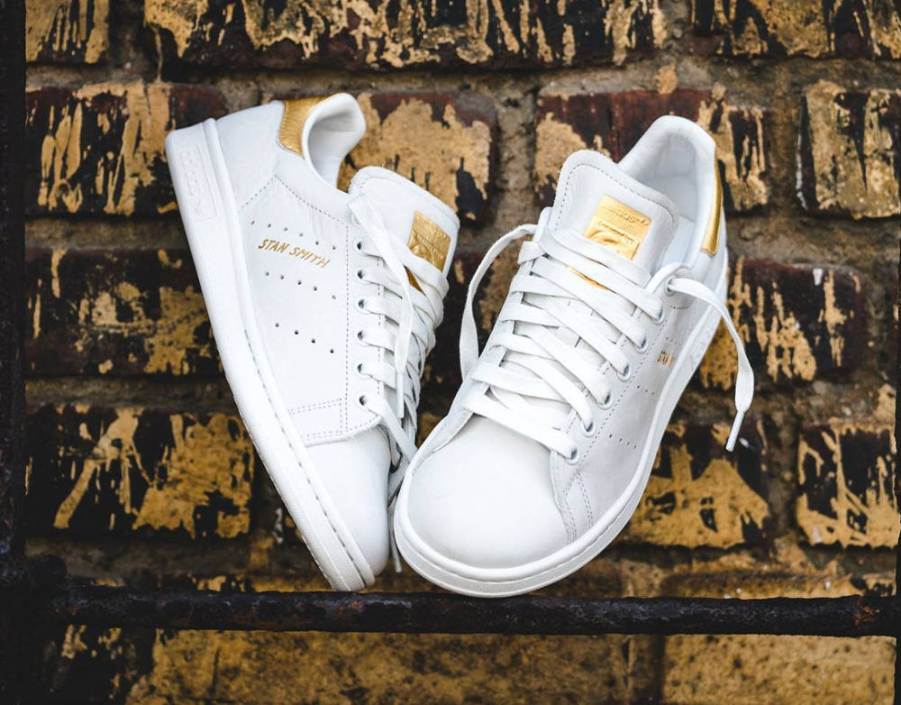 Basket Adidas Stan Smith Premium 999 '24K Gold' ...