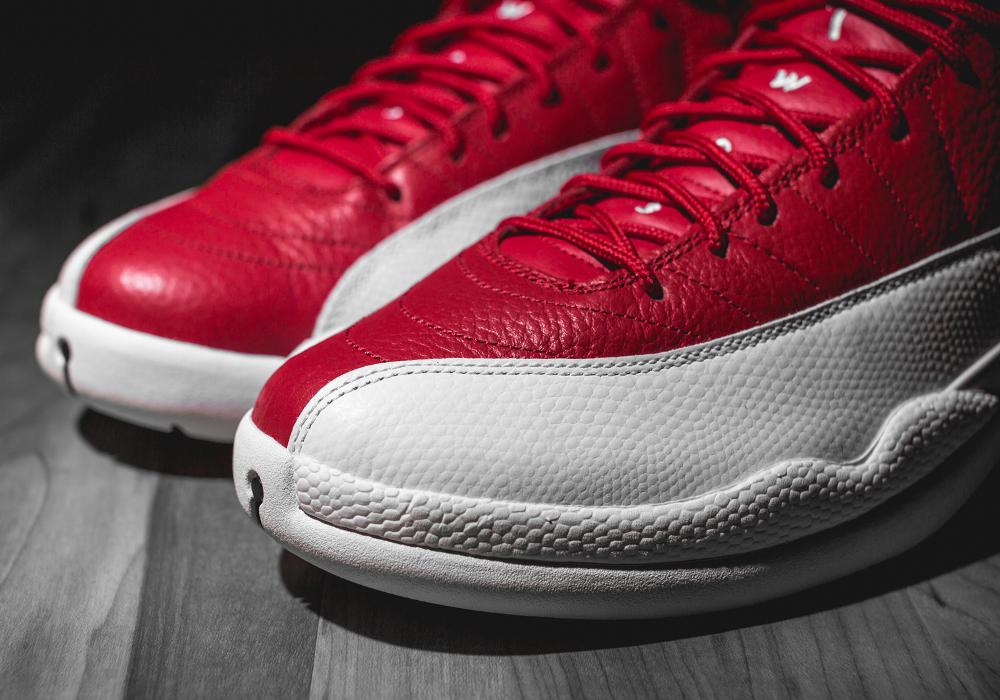 Basket Air Jordan Retro 12 'Gym Red' (3)