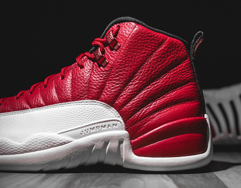 Basket Air Jordan Retro 12 'Gym Red' (6)