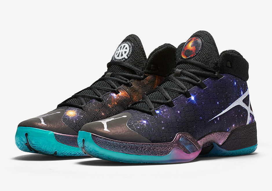 Basket Air Jordan XXX Q54 'Galaxy' (5)