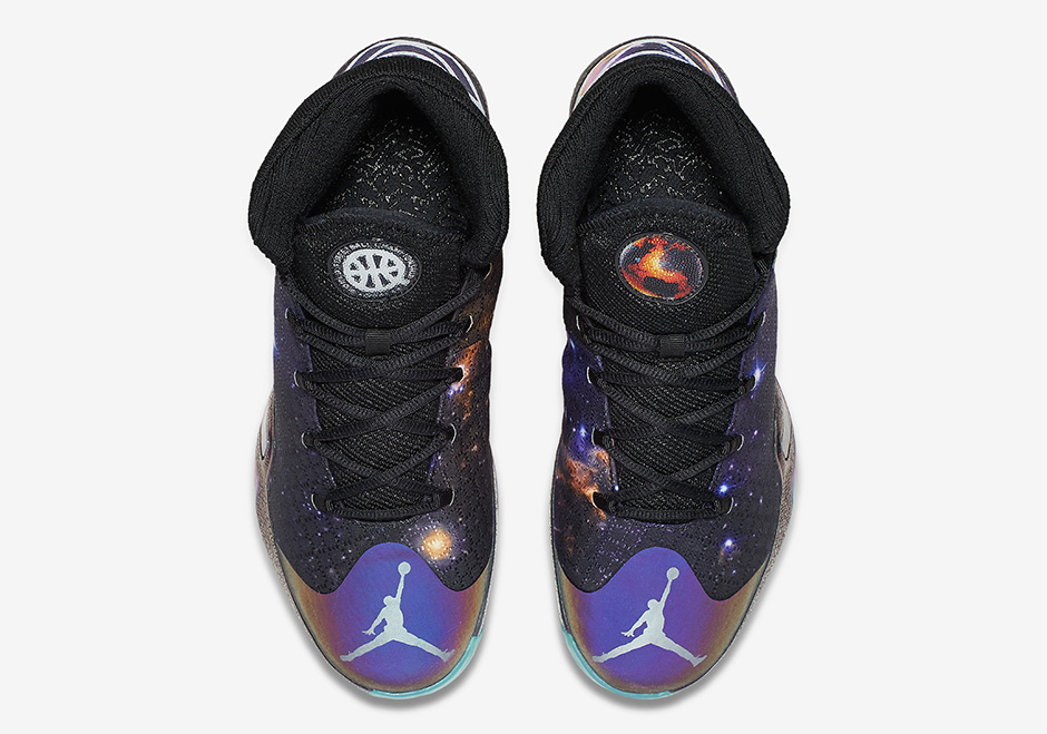 Basket Air Jordan XXX Q54 'Galaxy' (8)