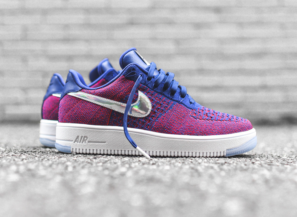 Basket Nike Air Force 1 Ultra Flyknit Low E pluribus unum (1)