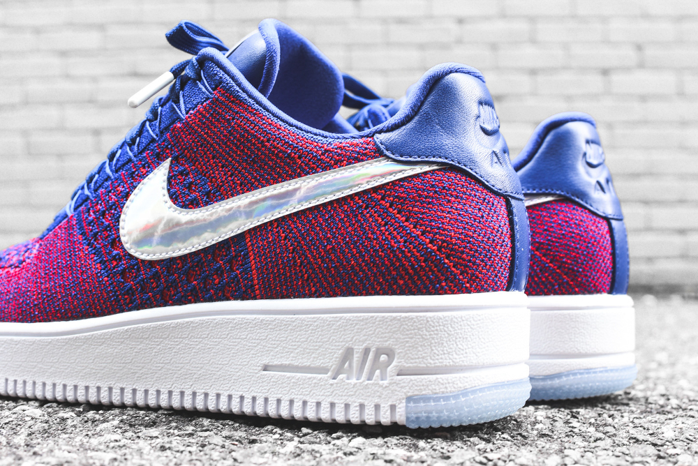 Basket Nike Air Force 1 Ultra Flyknit Low E pluribus unum (3-1)