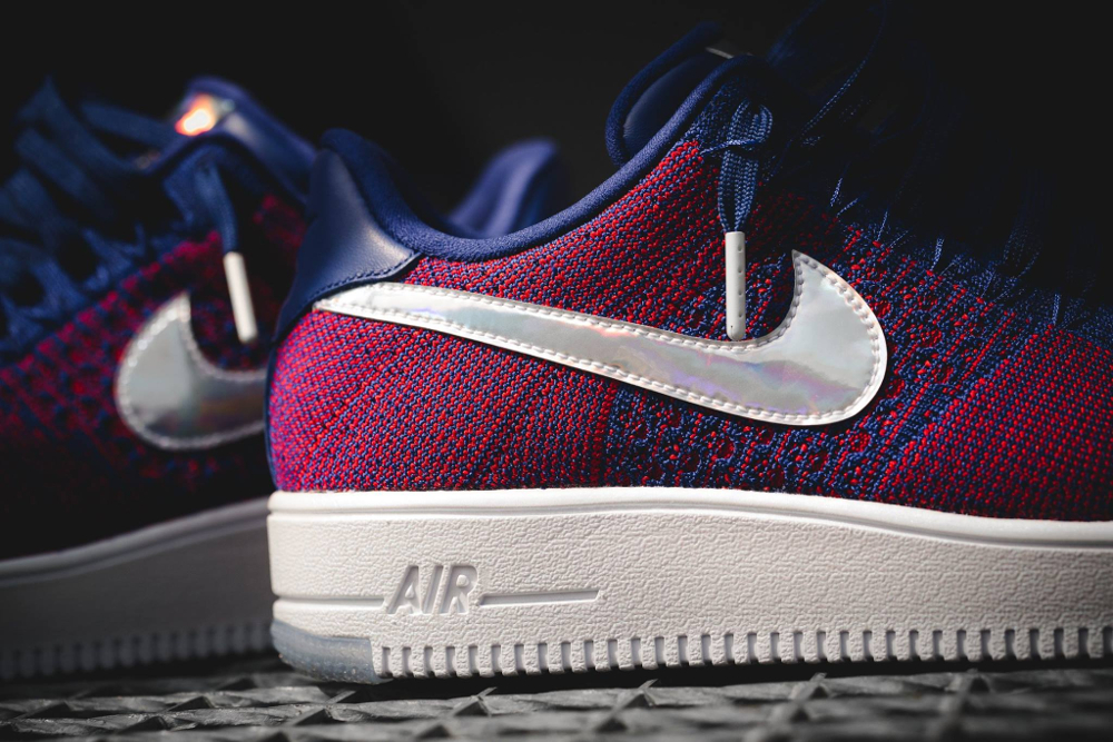 Basket Nike Air Force 1 Ultra Flyknit Low E pluribus unum (6)