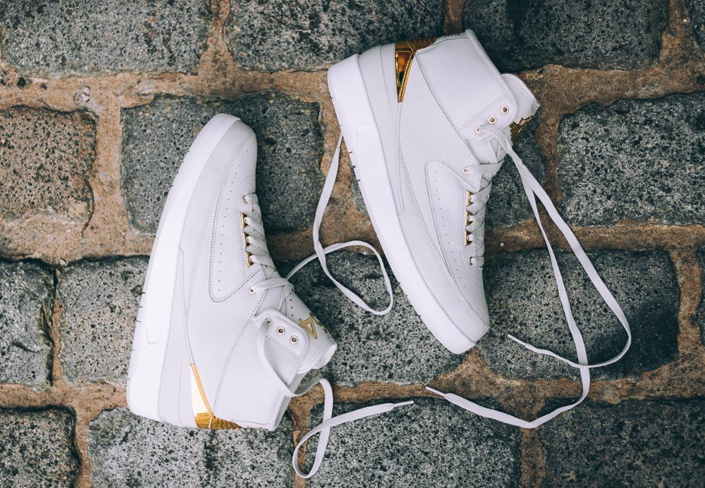 Basket Nike Air Jordan 2 Retro Quai 54 2016 (3)