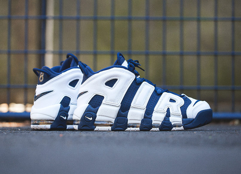 Basket Nike Air More Uptempo 'Olympic 2016' (1)