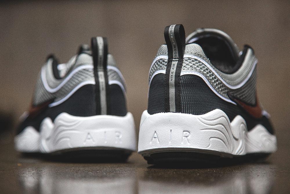Basket Nike Air Zoom Spiridon OG Black Sport Red (Quickstrike) (2)