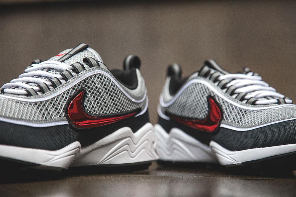 Basket Nike Air Zoom Spiridon OG Black Sport Red (Quickstrike) (3)