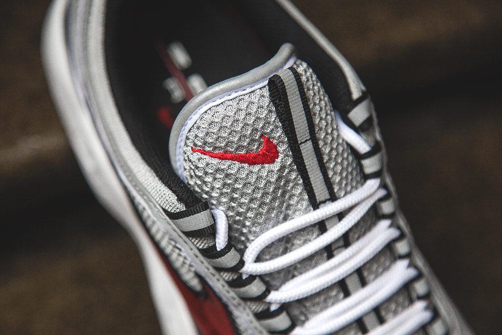 Basket Nike Air Zoom Spiridon OG Black Sport Red (Quickstrike) (4)