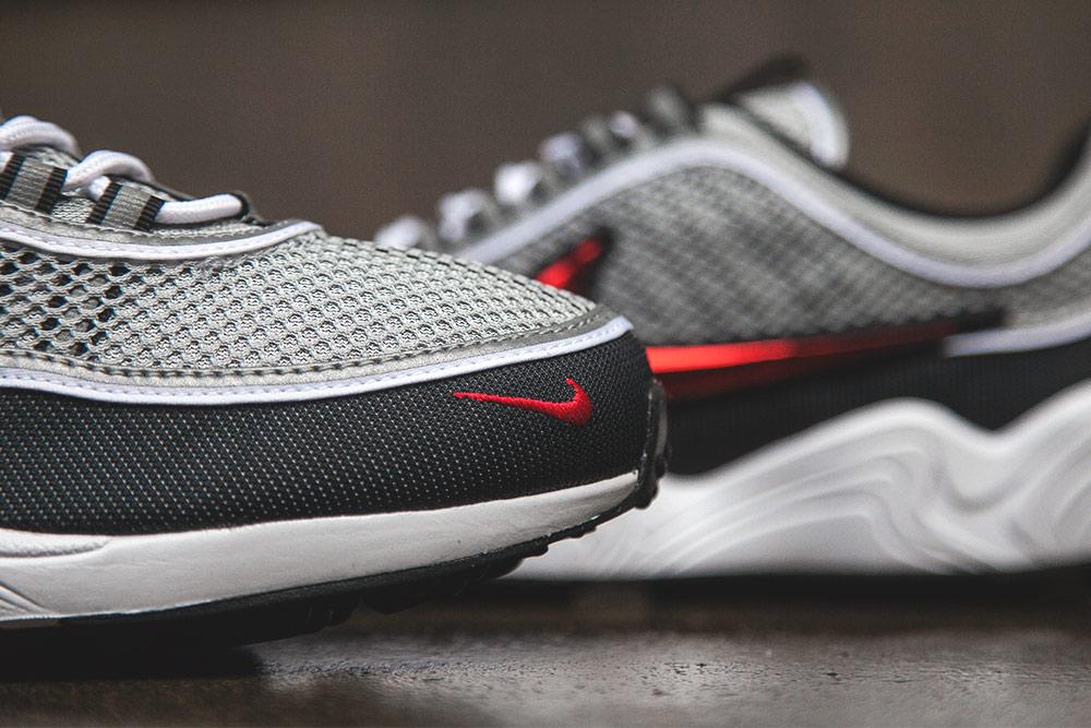 Basket Nike Air Zoom Spiridon OG Black Sport Red (Quickstrike) (5)