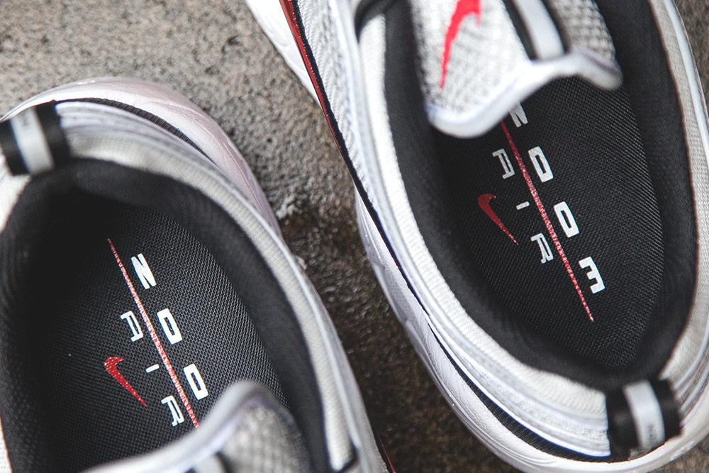 Basket Nike Air Zoom Spiridon OG Black Sport Red (Quickstrike) (6)